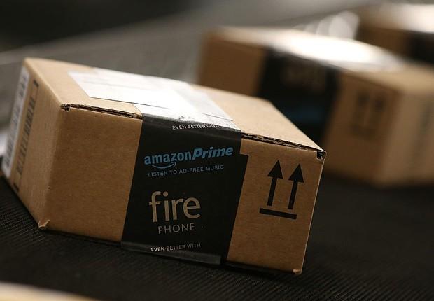 Pacote da Amazon (Foto: Justin Sullivan/Getty Images)