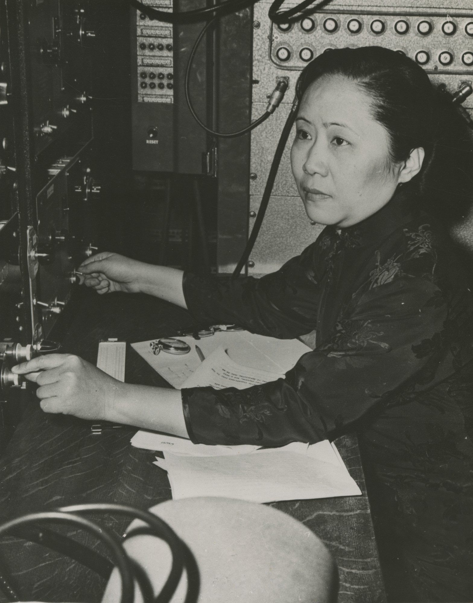 Chien-Shiung Wu (Foto: By Smithsonian Institution (Flickr: Chien-shiung Wu (1912-1997), via Wikimedia Commons)