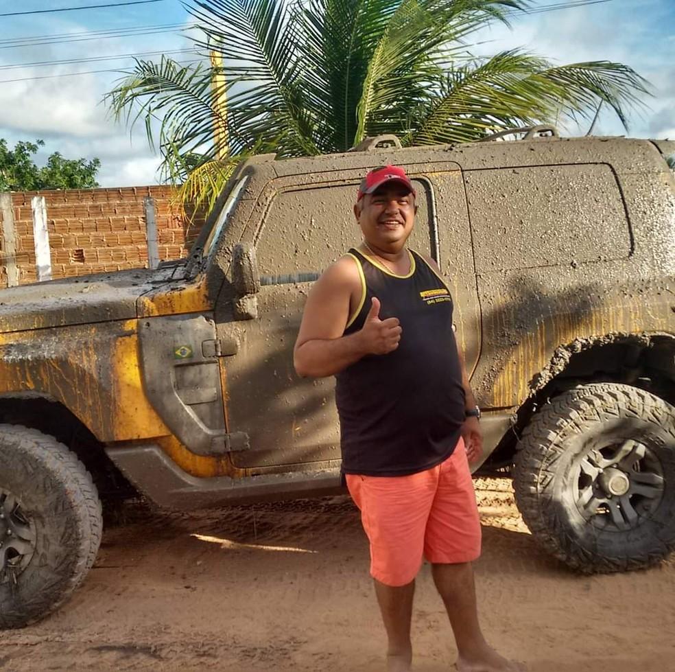 Empresário Otácio Fonseca Xavier faleceu após capotamento na Rota do Sol, em Natal. — Foto: Cedida