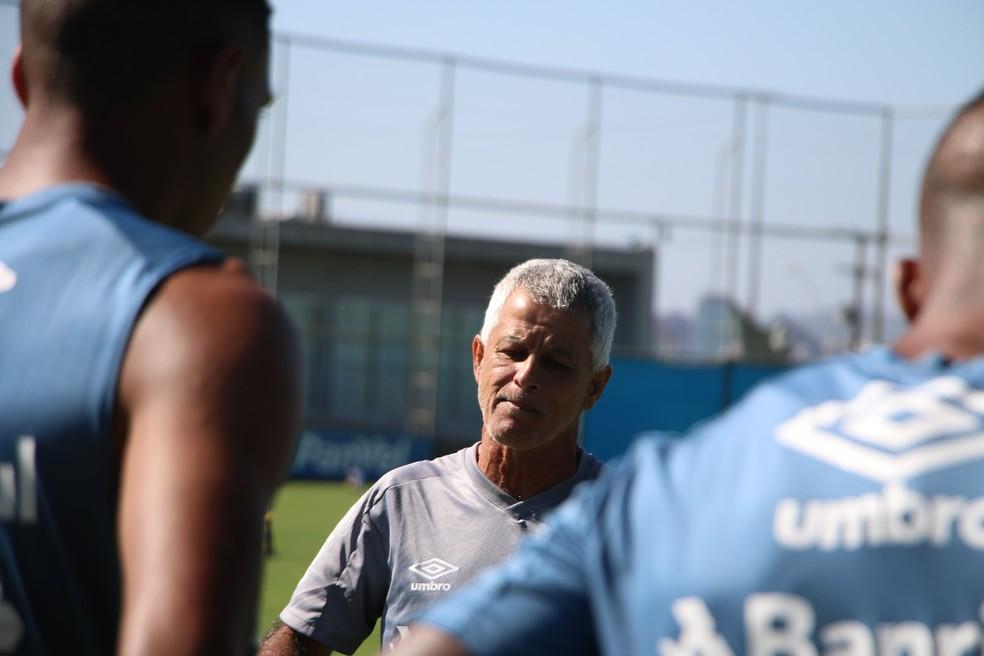 Márcio Meira, preparador físico do Grêmio — Foto: Eduardo Moura