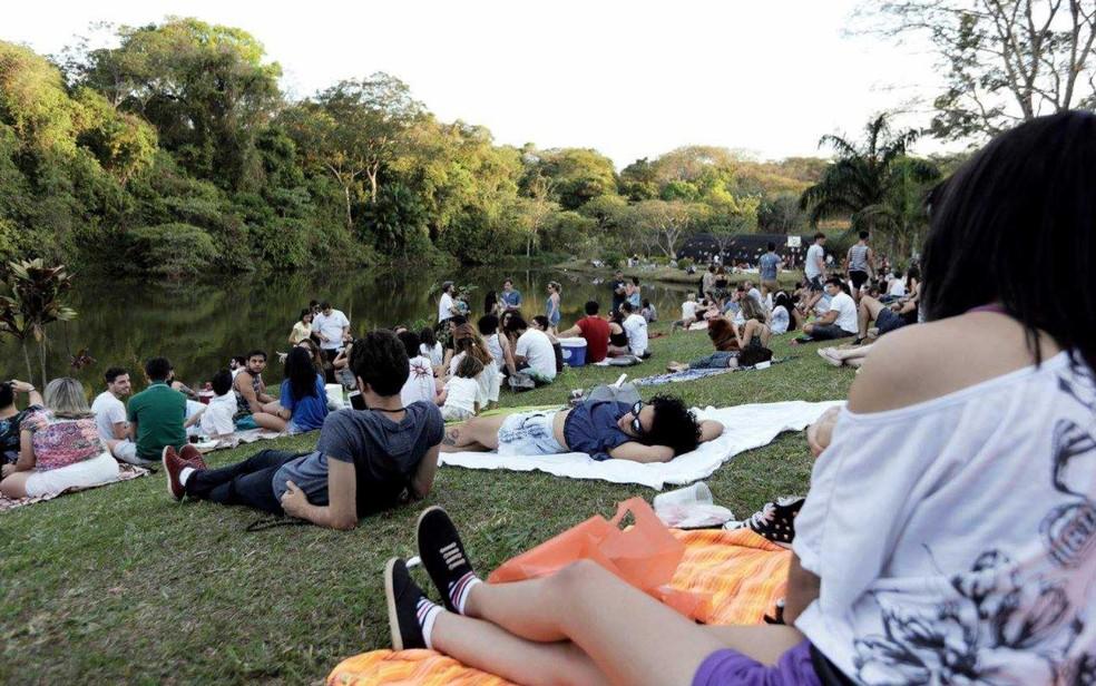 Entre as atividades ofertadas pelo evento estão opções relaxantes no espaço zen (Foto: Divulgação)