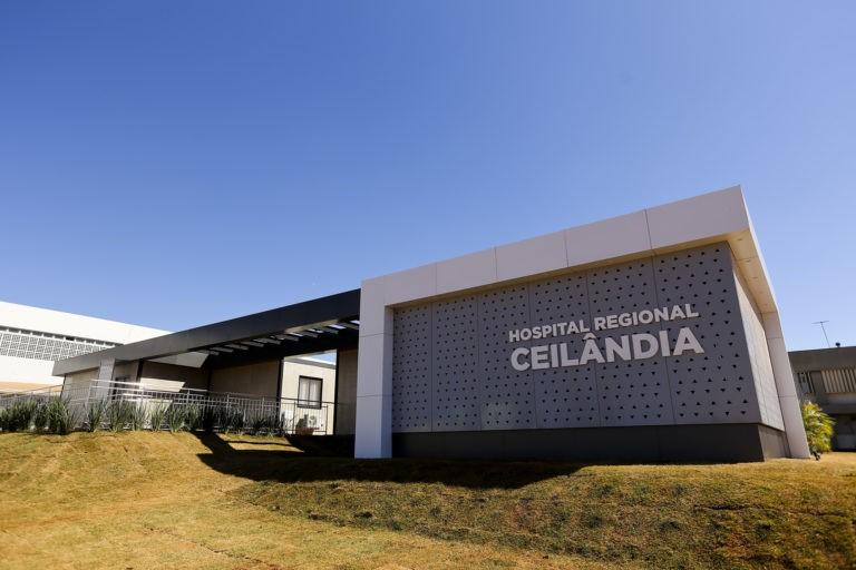 Hospital de Ceilândia, no DF, inaugura nova ala para pacientes com Covid-19