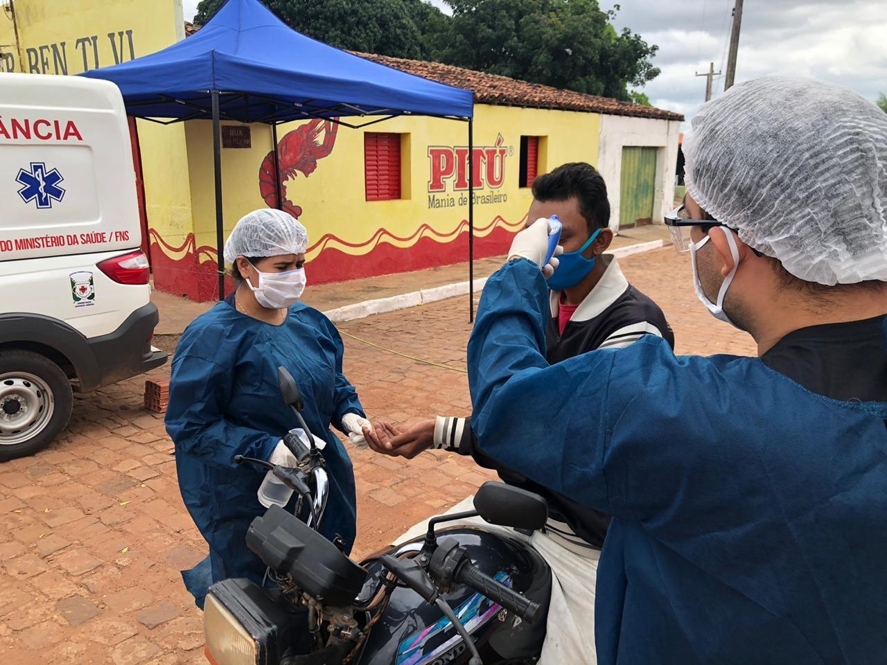 Comunidade é isolada no Piauí após cinco pessoas da mesma família testarem positivo para a Covid-19