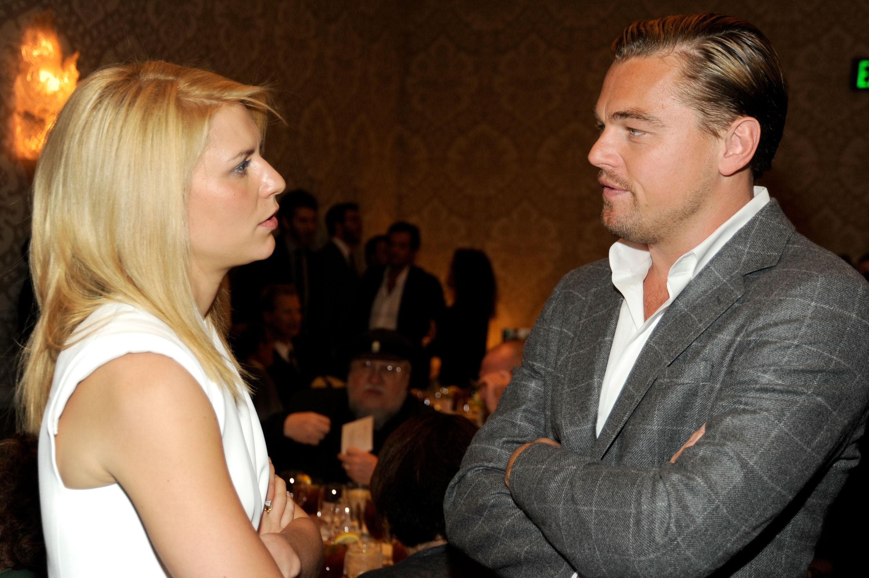 Claire Danes e Leonardo DiCaprio em 2012 (Foto: Getty Images)