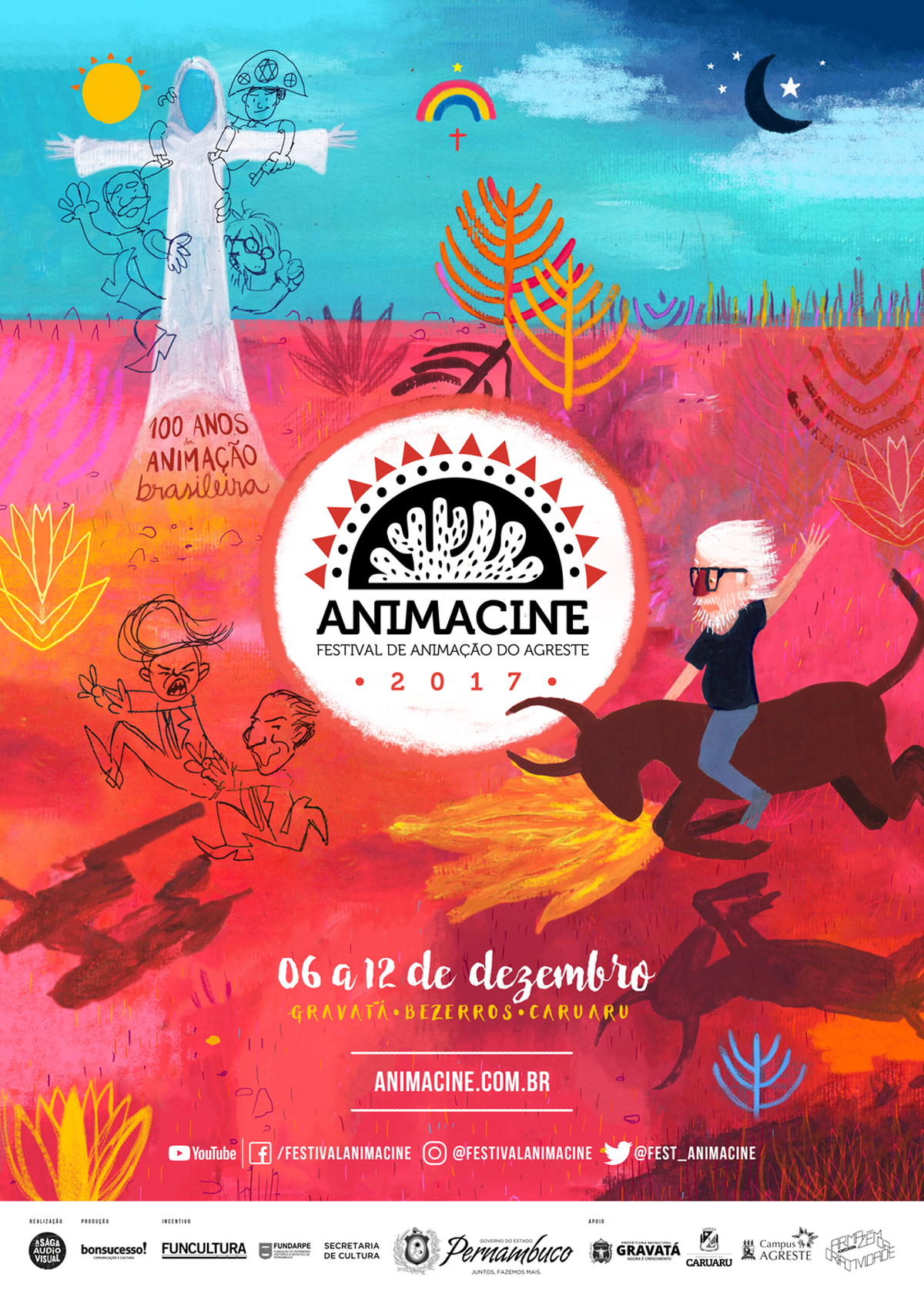 3º Animacine é realizado em Caruaru, Bezerros e Gravatá, no Agreste