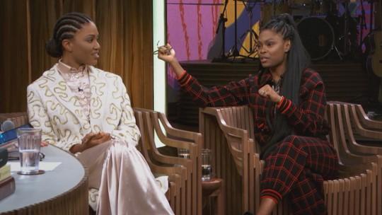 Xenia e Luedji falam sobre música: 'Existe uma lógica maluca do racismo que coloca mulheres em estado de competição'