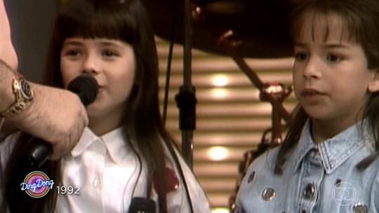 Sandy comenta fim da dupla com Junior e canta ao lado do marido, Lucas Lima, no 'Ding Dong'