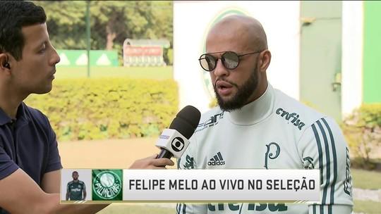 Felipe Melo aceita pressão e vê Palmeiras mais preparado em 2018