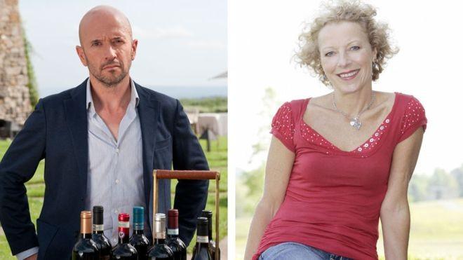 Joe Fattorini e Jilly Goolden, especialistas em vinhos, explicam por que alguns são tão caros (Foto: THE WINE SHOW/BBC)