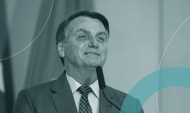 Bolsonaro em cerimônia de lancamento do programa Gigantes do Asfalto: decreto interferindo em redes sociais cairia na Justiça