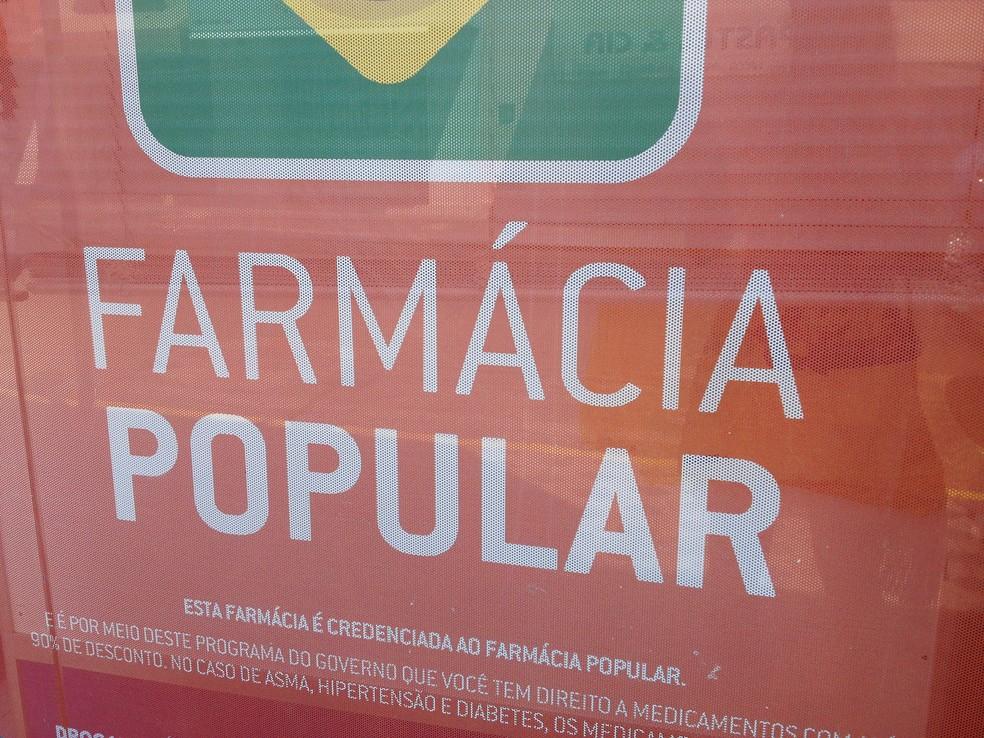 c69eadb8b ... Programa Farmácia Popular foi um programa criado para ajudar na compra  de medicamentos — Foto