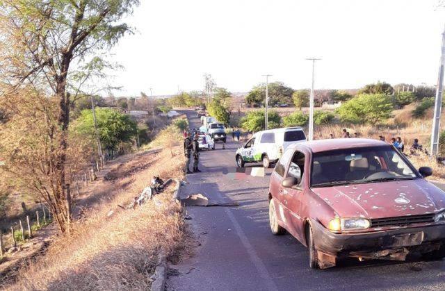 Agricultor morre após sofrer acidente de moto na Zona Rural de Araripina, PE - Notícias - Plantão Diário