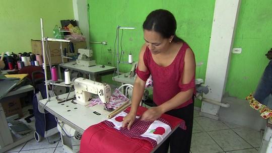 Costureira cria negócio com produtos criativos para a casa
