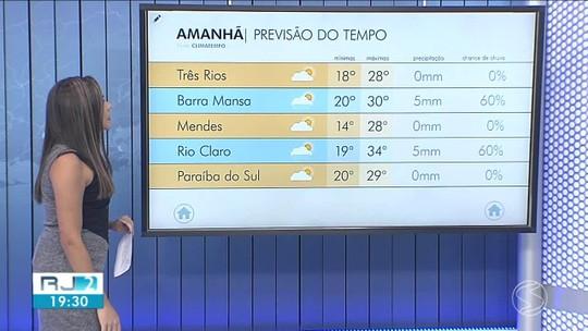 Sexta-feira será de tempo firme e pouca chance de chuva no Sul do Rio