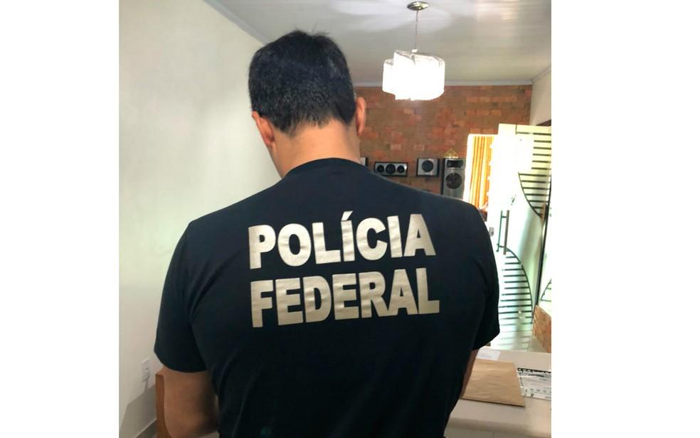 Operação foi realizada na manhã desta sexta-feira (Foto: Divulgação/Polícia Federal)