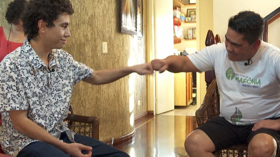 Giovanni foi diagnosticado com transtorno bipolar e hoje passa por tratamento — Foto: Reprodução/TV Globo
