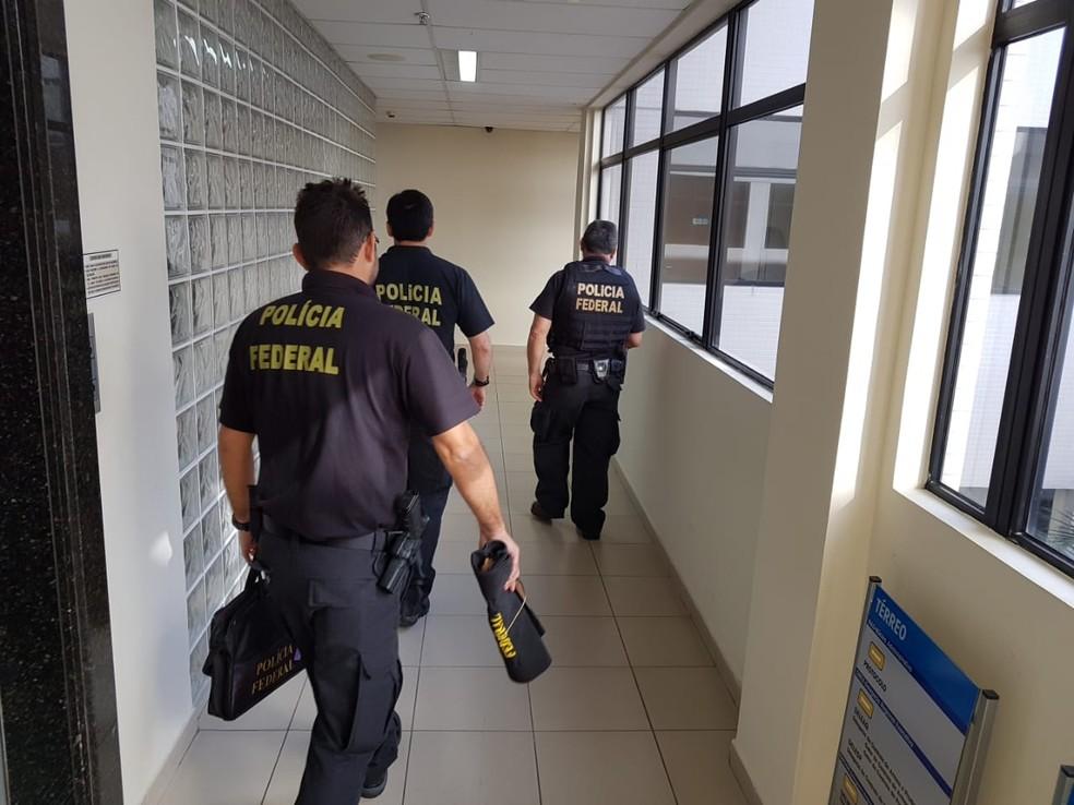 Operação Via Trajano foi deflagrada nesta terça-feira (31) em sete estados (Foto: Polícia Federal/Divulgação)