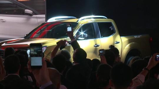 Site da Nissan 'entrega' preço da nova Frontier antes do lançamento