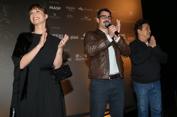 Mariana Ximenes, Juliano Cazarré e Marcos Frota (Foto: Manuela Scarpa/Brazil News)