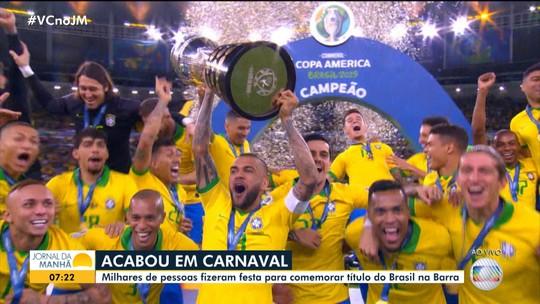 Após 12 anos, seleção brasileira conquista o nono título na Copa América 2019