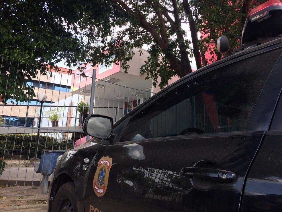 PF faz ação contra suspeitos de desvio de verbas em contratos do governo do MA (Foto: Sidney Pereira/TV Mirante)