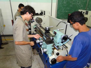 Ensino técnico oferecido por meio do programa Bolsa Sedu (Foto: Divulgação/Sedu)