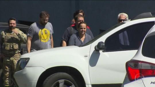 Ex-presidente Lula recebe visita da família na prisão, em Curitiba