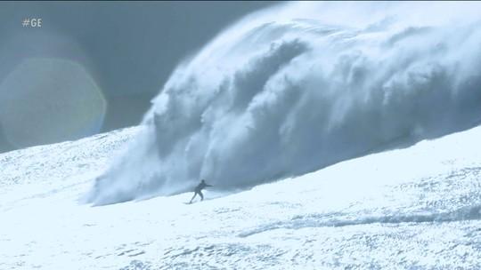 'Gigantes de Nazaré': surfistas se enfrentam em desafio de ondas grandes, neste domingo
