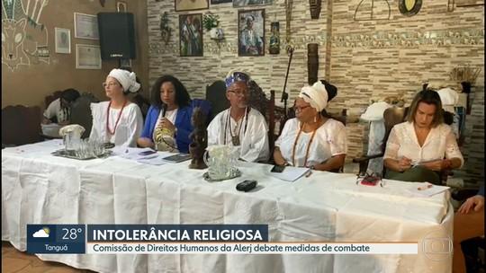 Comissão de Direitos Humanos da Alerj debate medidas de combate à intolerância religiosa