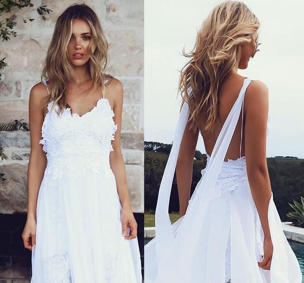 Vestido de noiva no Pinterest (Foto: Reprodução / Pinterest)