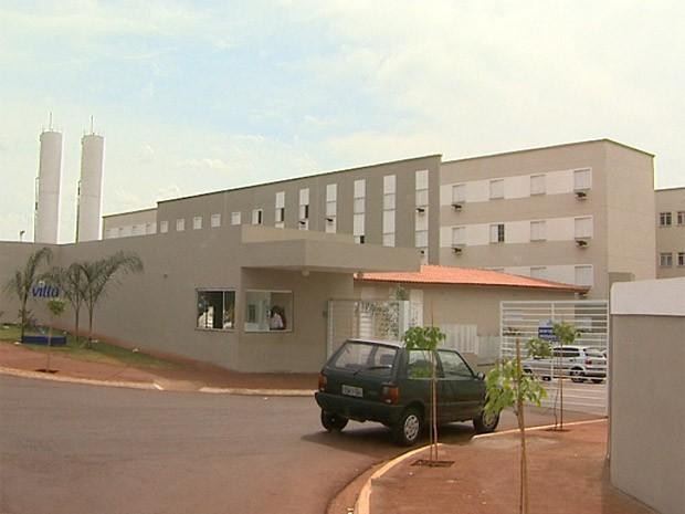 Condomínio Vitta foi assaltado seis vezes desde que foi inaugurado, em julho deste ano, em Ribeirão Preto (Foto: Paulo Souza/EPTV)