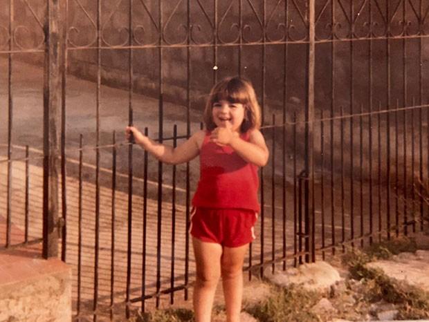 A pequena Amanda com 4 anos (Foto: Arquivo pessoal)