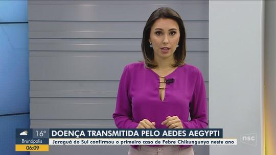Jaraguá do Sul confirma 1º caso de chikungunya no município em 2019