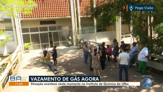 Vazamento de produto químico assusta funcionários e estudantes da UFBA