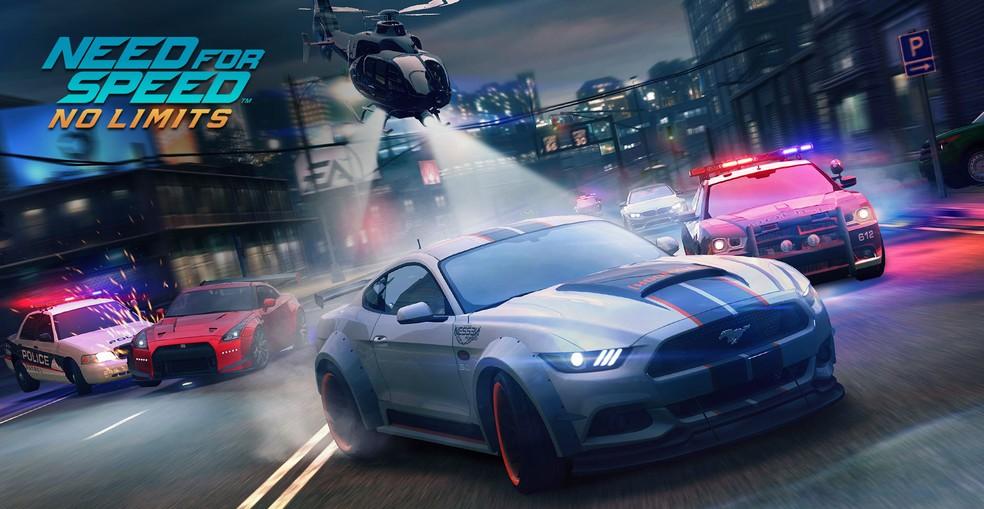 Muita velocidade, customização e belos gráficos para o jogo de celular — Foto: Divulgação/EA Games