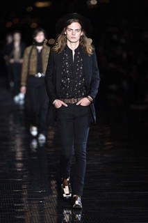Desfile Saint Laurent em Nova York
