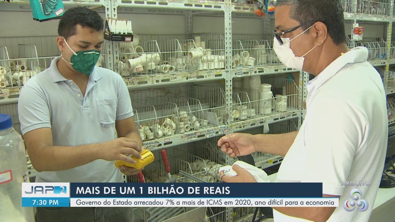 Amapá arrecada mais de R$ 1 bilhão com ICMS em 2020