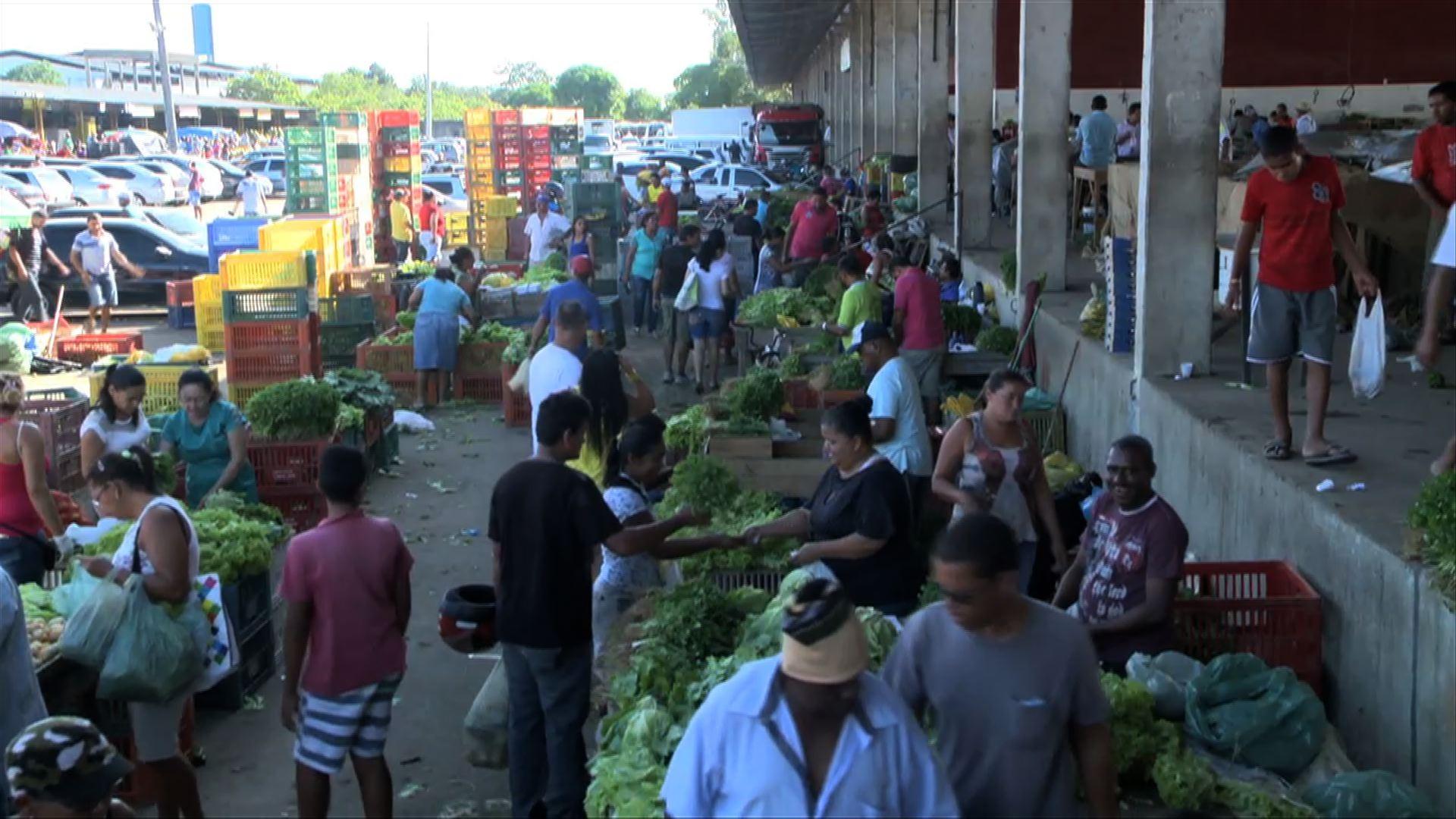 Ceasa de Alagoas diz que  recebeu só 30% do carregamento de alimentos previsto para esta quinta
