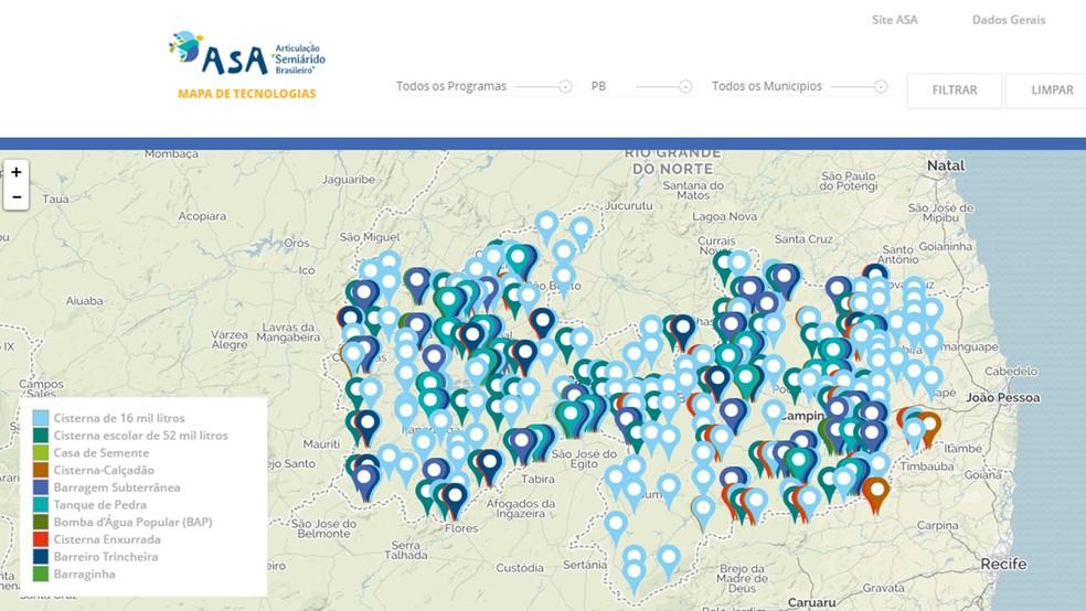 Mais de 87 mil cisternas de água para consumo e produção estão instaladas na Paraíba (Foto: Reprodução/asabrasil.org.br)