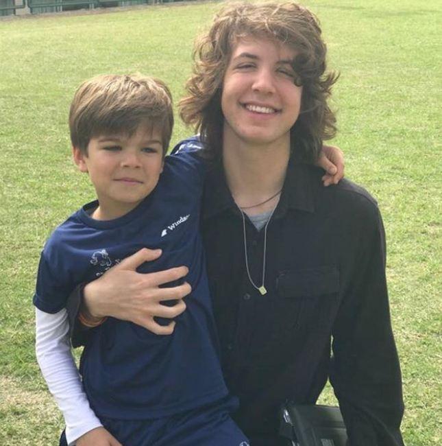 Lorenzo e Lucas (Foto: Reprodução/Instagram)