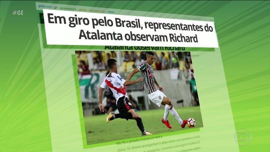Atalanta observa Richard do Fluminense para reforçar elenco