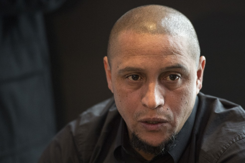 Ex-lateral, Roberto Carlos é embaixador do Real Madrid (Foto: Ennio Leanza/Keystone via AP)