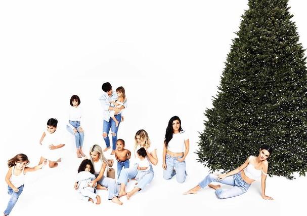 Clã Kardashian-Jenner (Foto: Reprodução Instagram)