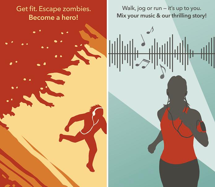 Zombies Run é um game de zumbi ara Android (Fot: Divulgação)