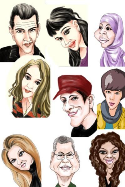 приложение на телефон для фото карикатур классического стиля