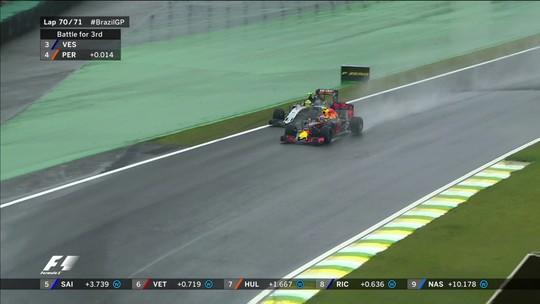 Showman no GP do Brasil de 2016, Verstappen crê em RBR forte na chuva