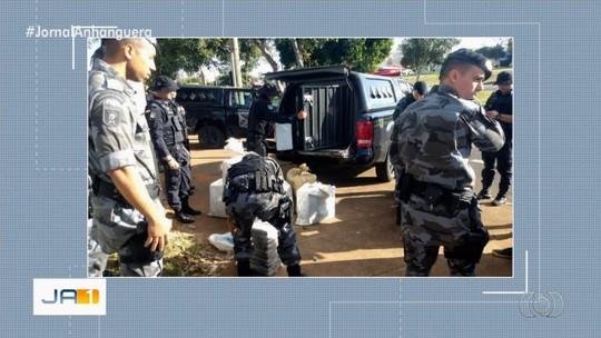 Polícia Militar apreende 400 kg de cocaína em ração para porcos, em Cristalina
