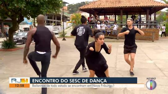 Bailarinos de todo o estado se encontram em Nova Friburgo