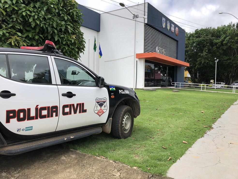 Polícia Civil de Ariquemes ainda não localizou os suspeitos  — Foto: Jeferson Carlos/Arquivo/G1