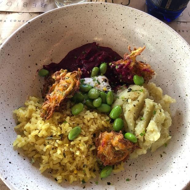 Novo prato do Cha Cha, na unidade do Jardins que acaba de inaugurar (Foto: Reprodução/Instagram)